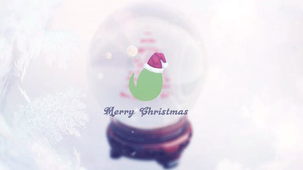 Thumbnail for Christmas Snow Globe Grettings
