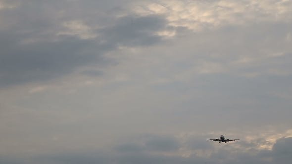 Thumbnail for Airplane In The Sky Landing