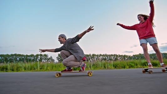 Thumbnail for Amazing Longboarding
