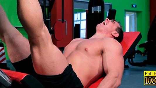 Thumbnail for Sportsman Doing Push-ups Feet