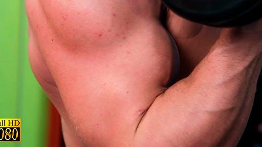 Thumbnail for The Man Shakes His Biceps
