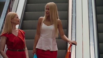Blonde Shopaholics