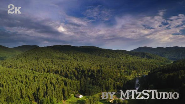 Thumbnail for Aerial Beautiful Green Landscapes