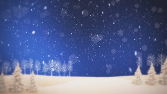 Thumbnail for Christmas Blue Background