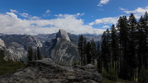 Glacier Point Yosemite Valley Time Lapse