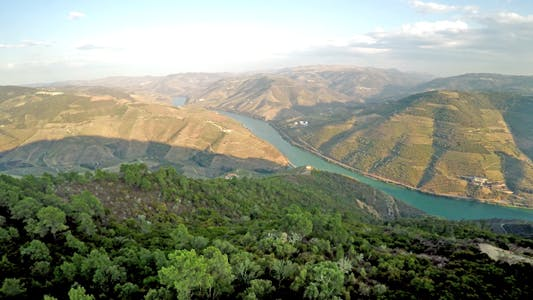 Thumbnail for Aerial Douro River 03
