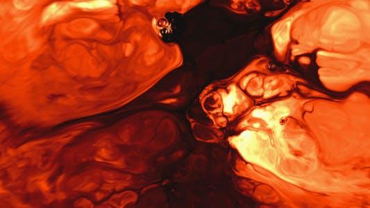 Thumbnail for Abstrakte bunte Farbe Tinte Spread Explode 2