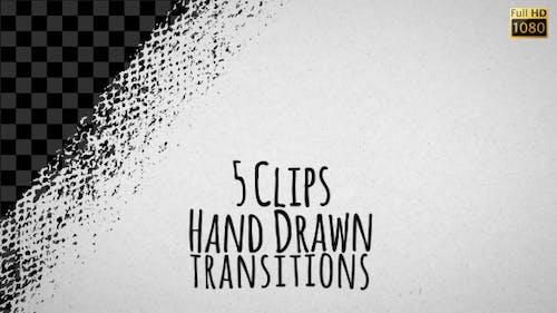 Transitions dessinées à la main