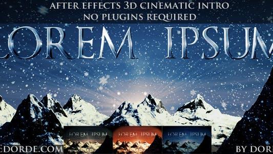 Thumbnail for Cinematic Opener - Lorem Ipsum