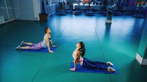 Classes In Yoga Studio