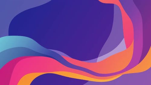 Abstract Colorful Shapes Background 4K
