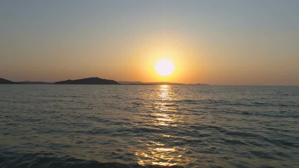 Thumbnail for Beautiful Golden Sunset at Lemnos, Greece