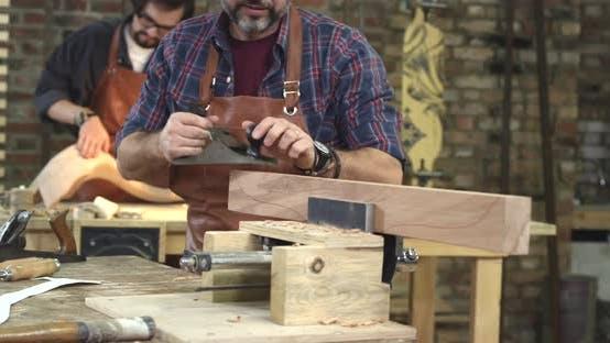 Thumbnail for Handwork Makes Cabinet Maker Happy