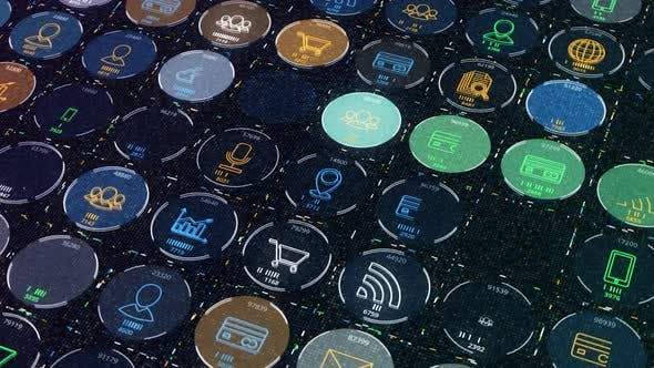 Electronic business badges