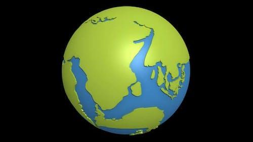 Continental Drift Pacific