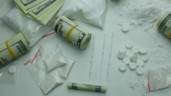 Thumbnail for Criminal Money Profit Of The Drug Cartel From The Sale Of Cocaine
