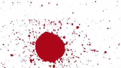 Blood Ink Drop