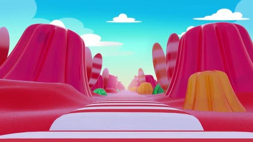 Candy Background Loop