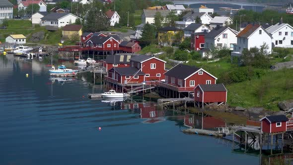 Thumbnail for Fishing Village in the Lofoten