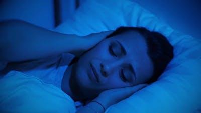 Woman Cannot Fall Asleep Due To Noisy Neighbors