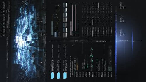 Futuristic Quantum Computing Simulation