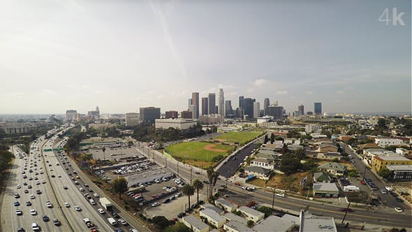 Thumbnail for Above Los Angeles Traffic