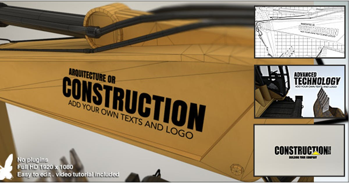 Download Construction Titles by Ultinato