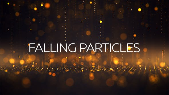 Thumbnail for Gold - Falling Particles Backgrounds