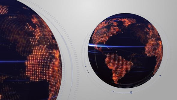 Thumbnail for Digital Blue Earth Globe