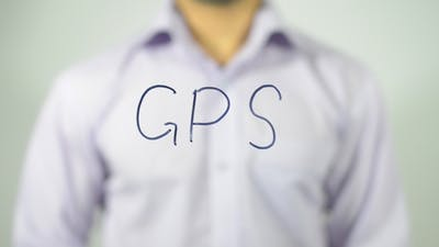 GPS, Writing on transparent Screen