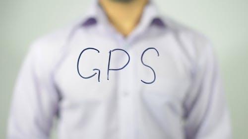 GPS, Writing on transparent Screen