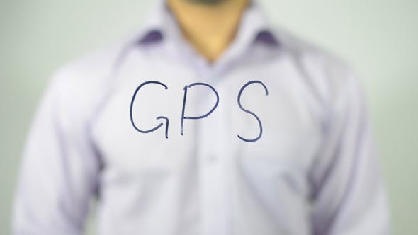 Thumbnail for GPS, Writing on transparent Screen