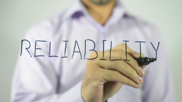 Thumbnail for Reliability, Writing on Transparent Screen