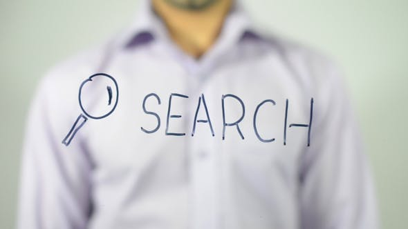 Thumbnail for Search, Writing on Transparent Screen