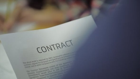 Thumbnail for Read Business Contract, Mutual Agreement