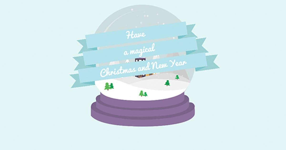 Download Cartoon Christmas Postcard 03 by Aquavitae