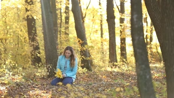 Thumbnail for Girl With Leaves In Their Hands