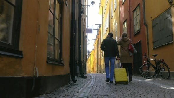 Thumbnail for Touristic Walk In Old Town Of Stockholm