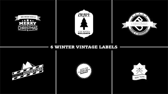 Thumbnail for Winter Vintage Labels