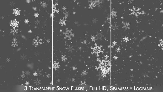 Thumbnail for Snow and Snow Flakes V2