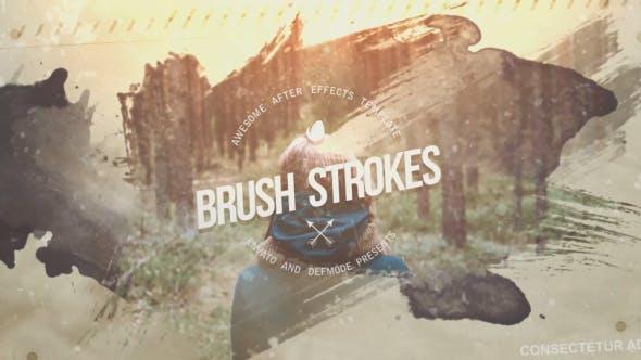 Thumbnail for Brush Strokes Inspire Slideshow
