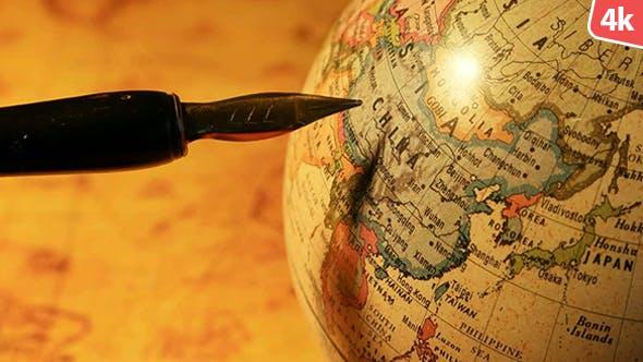 Thumbnail for Vintage Old Globe 133