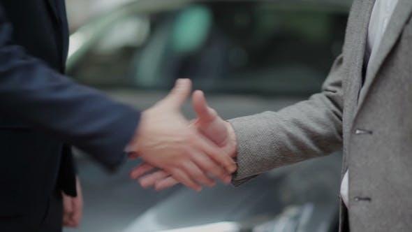 Thumbnail for Handshake And Handing Over The Keys