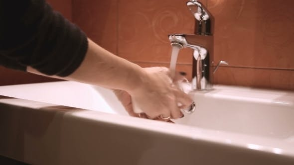 Thumbnail for Woman Washing Hands