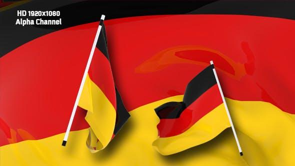 Flag Transition - Germany