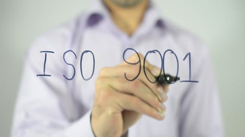 ISO 9001, Writing on Transparent Screen