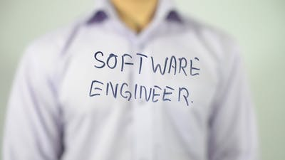Software Engineer, Profession Expression on Screen