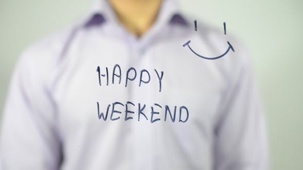 Thumbnail for Happy Weekend, Smiley, Illustration