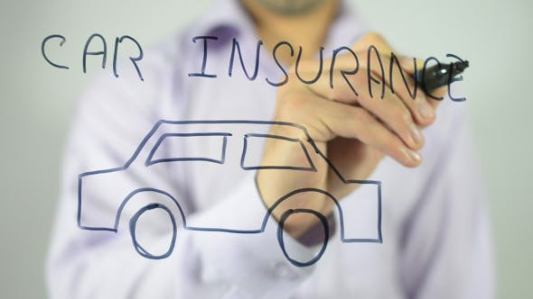 Thumbnail for Car Insurance, Illustrated Concept
