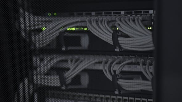 Thumbnail for Electric Power Cables For Server Computer